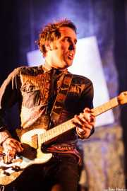 Joseba Irazoki, guitarrista de Los Separatistas, Bizkaia Aretoa - UPV/EHU, Bilbao. 2013