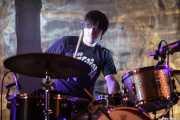 Felix Buff, baterista de Los Separatistas, Bizkaia Aretoa - UPV/EHU, Bilbao. 2013