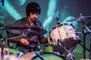 Andoni Etxebeste, baterista de Mati and The Kozmic Guests (Teatro Campos, Bilbao, 2013)