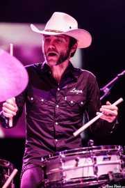 "Roberto Lozano ""Loza"", baterista de Los Coronas, Kafe Antzokia, Bilbao. 2013"