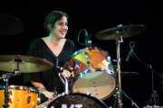 Virginia Fernández, baterista de Last Fair Deal
