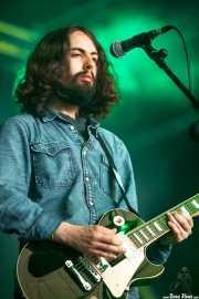 Yotam Rubinger, guitarrista de Uncle Acid and the Deadbeats (Azkena Rock Festival, Vitoria-Gasteiz, 2013)