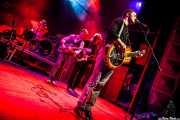 Ben Azzi -batería-, Dylan Fitch -guitarra-, David Supica -bajo- y Ben Ringel -voz y guitarra- de The Delta Saints, Kafe Antzokia, Bilbao. 2013