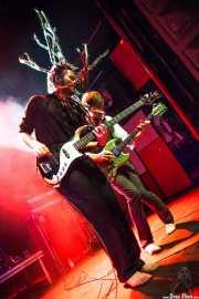David Supica -bajo- y Dylan Fitch -guitarra- de The Delta Saints, Kafe Antzokia, Bilbao. 2013