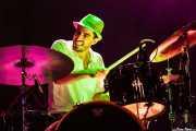 Ben Azzi, baterista de The Delta Saints, Kafe Antzokia, Bilbao. 2013