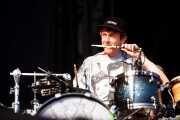 Thom Green, baterista de Alt-J, Bilbao BBK Live, Bilbao. 2013