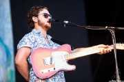 Joe Newman, cantante y guitarrista de Alt-J, Bilbao BBK Live, Bilbao. 2013