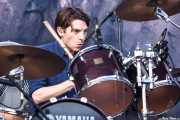 Ed Lay, baterista de Editors (Bilbao BBK Live, Bilbao, 2013)