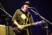 Neil Young, guitarrista y cantante de Neil Young & Crazy Horse, Stade Aguiléra. 2013