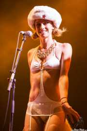 Kim Manning, cantante de George Clinton's Parliament Funkadelic, Stade Aguiléra. 2013