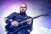 Robert Westerholt, guitarrista de Within Temptation, Festival En Vivo, Bilbao. 2013