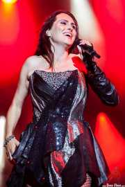 Sharon den Adel, cantante de Within Temptation, Festival En Vivo, Bilbao. 2013