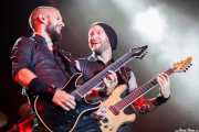 Robert Westerholt -guitarra- y Ruud Jolie -guitarra- de Within Temptation, Festival En Vivo, Bilbao. 2013
