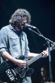 Gorka Arbizu, guitarrista y cantante de Berri Txarrak, Bilbao. 2013
