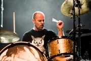Galder Izagirre, baterista de Berri Txarrak, Bilbao. 2013