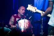 Brigi Duke, baterista de El Drogas, Festival En Vivo, Bilbao. 2013
