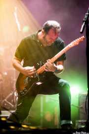 Juanjo Arias, guitarrista de Sonic Trash, Santana 27, Bilbao. 2013