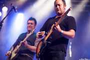 Juanjo Arias -guitarra- y David Hono -voz y guitarra- de Sonic Trash, Santana 27, Bilbao. 2013