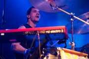 Cody Dickinson, baterista y teclista de North Mississippi Allstars, Santana 27, Bilbao. 2013