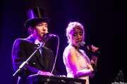 Alice Francis -voz- y Sir Chul-Min Yoo -voz y teclado-, Sala BBK, Bilbao. 2013