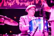 """Laurent """"Le Mapo"""" Mapelli, baterista de Sister Cookie with The Mad Tubes (Funtastic Dracula Carnival, Benidorm)"""