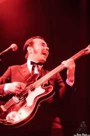 Fernando Terror, bajista de MFC Chicken, Funtastic Dracula Carnival, Benidorm. 2013