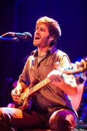Natxo Idiondo, guitarrista de MobyDick, Bilborock, Bilbao. 2013