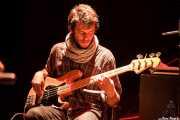 Josu Cobelo, bajista de MobyDick, Bilborock, Bilbao. 2013