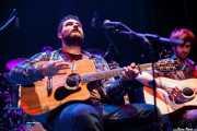 "Eneko ""MobyDick"" Burzako -voz y guitarra- y Natxo Idiondo -guitarra- de MobyDick, Bilborock, Bilbao. 2013"