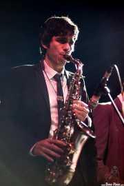 Marc Lloret, saxofonista de The Excitements, Kafe Antzokia, 2013