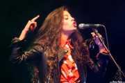 Soleá Morente, cantante de Soleá Morente y Los Evangelistas (BIME festival, Barakaldo, 2013)