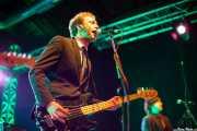 Kurt Baker, cantante y bajista de Kurt Baker Band, Purple Weekend Festival, León. 2013