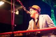 Kris Rodgers, teclista de Kurt Baker Band, Purple Weekend Festival, León. 2013
