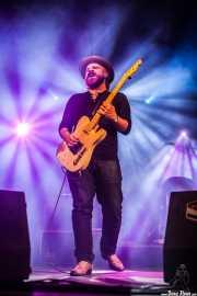 Matt Hill, guitarrista de Nikki Hill, Purple Weekend Festival. 2013