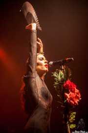 """Cristina Manjón """"Nita"""", cantante de Fuel Fandango (Kafe Antzokia, Bilbao, 2013)"""