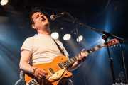 Luis Arroyo, cantante y guitarrista de Luigi Stream & Lee Perk Trio, Santana 27, Bilbao. 2014