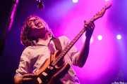 Gonzalo Portugal, cantante y guitarrista de Last Fair Deal, Kafe Antzokia, 2014