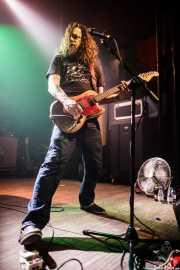 Bryan Giles, cantante y guitarrista de Red Fang, Kafe Antzokia, Bilbao. 2014