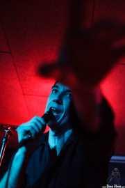 Screaming George, cantante de Screaming George & The Hustlers, en Santana 27, BIlbao