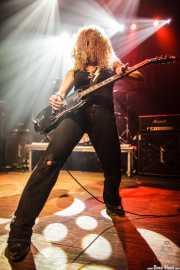 Ruyter Suys, guitarrista de Nashville Pussy (Kafe Antzokia, Bilbao, 2014)