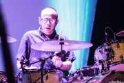 Toño López, baterista de Hendrik Röver y los Míticos GT's (Sala BBK, Bilbao, 2014)