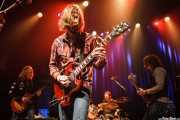 Eric Saylors -guitarra-, Jeff Massey -voz y guitarra-, Joe Winters -batería- y Tod Bowers -bajo- de The Steepwater Band (Kafe Antzokia, Bilbao, 2014)