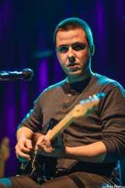 Ander Mujika, guitarrista y cantante de Napoka Iria, Bilbao. 2014