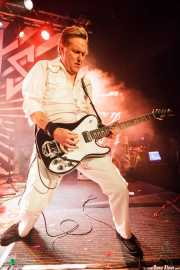 Pete Dee, guitarrista de The Adicts, en la Sala Sonora, Erandio