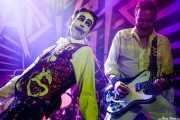 """Keith """"Monkey"""" Warren y Pete Dee, de The Adicts, en la Sala Sonora, Erandio"""