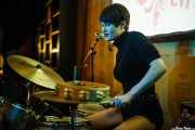 Daniela Kennedy, baterista de The Limboos, en el Fuzz in the City 2014, Bilbao