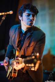 Roi Fontoira, guitarrista y cantante de The Limboos en el Fuzz in the City 2014, Bilbao