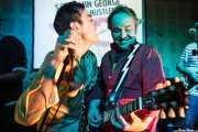Screaming George y James Hustler, de Screaming George & The Hustlers, en el Fuzz in the City 2014, Bilbao