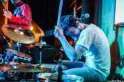 Oscar SP, baterista de Las Aspiradoras, en el Fuzz in the City 2014, Bilbao