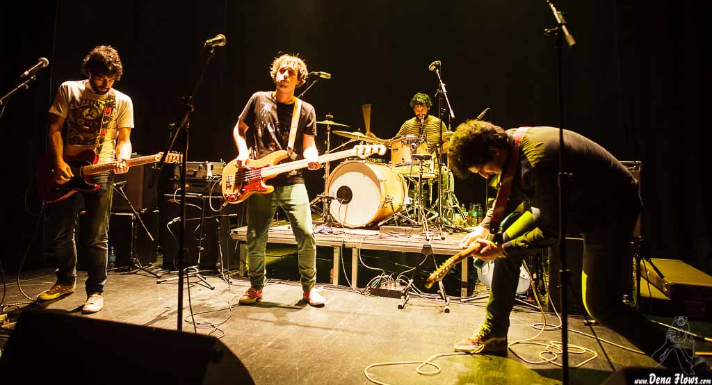 Yellow Big Machine, Bilborock, Bilbao, 05/04/2014